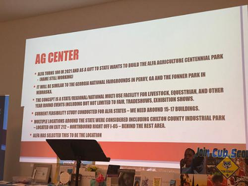 Proposed Ag Center