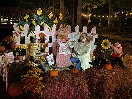 Peach Park, in Clanton, sponsored a Scarecrow Walk October 16 through 18.