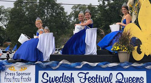 From Thorsby Swedish Festival Parade On October 12, 2019.